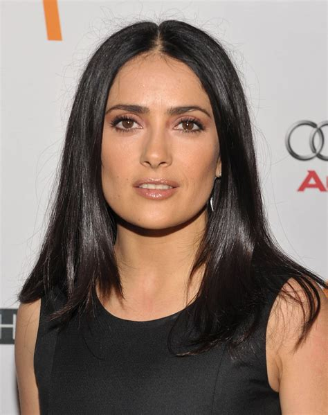 Middle Age Hair Style For Black Hair by Salma Hayek Salma Hayek Hairstyles