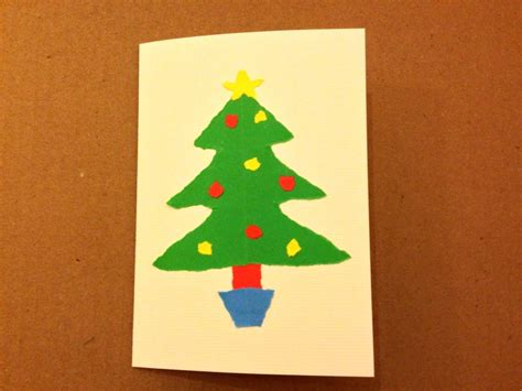 Paper Craft Card - paper craft card card tree