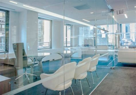 Temporary Office Space Nyc by Furnished Term Sublease At The Seagram Building