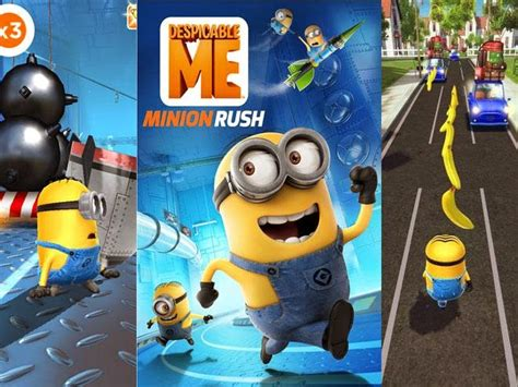 download game android minion rush mod despicable me minion rush hack tool games hack tool