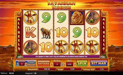 savannah sunrise slot  amaya review play
