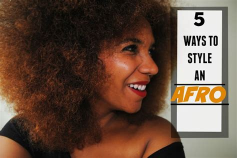 styling my afro 5 ways to style an afro little likely lads