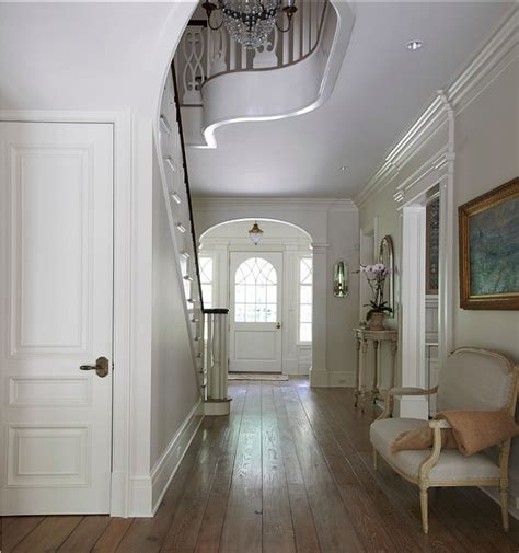 Foyer Hallway Classic Georgian Home Design Home Bunch Interior Design