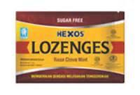 Hexos Permen Rasa Mint konimex e store hexos lozenges clove mint