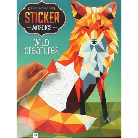 Stiker Mosaics Stiker Tempel kaleidoscope sticker mosaics creatures crafting books at the works