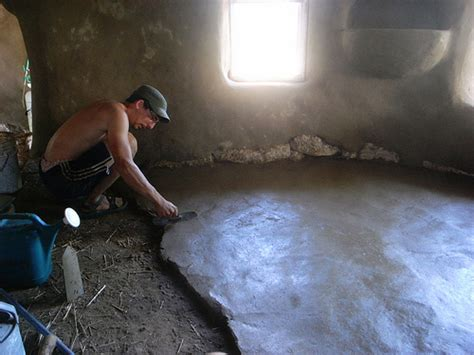 Floor Mud by And Installing A Finish Earthen Floor The Year Of