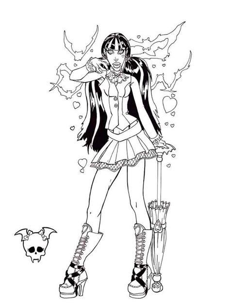monster high coloring pages download monster high coloring pages download and print monster