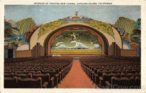 interior  theatre  casino santa catalina island ca