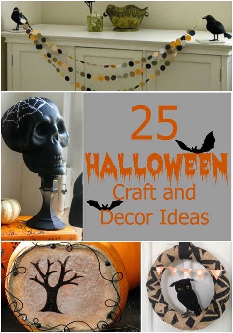 quick decor 25 quick and easy halloween home decor crafts rural mom