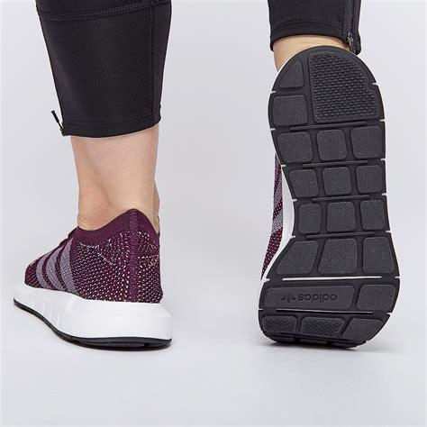 womens shoes adidas originals womens swift run pk red night cq