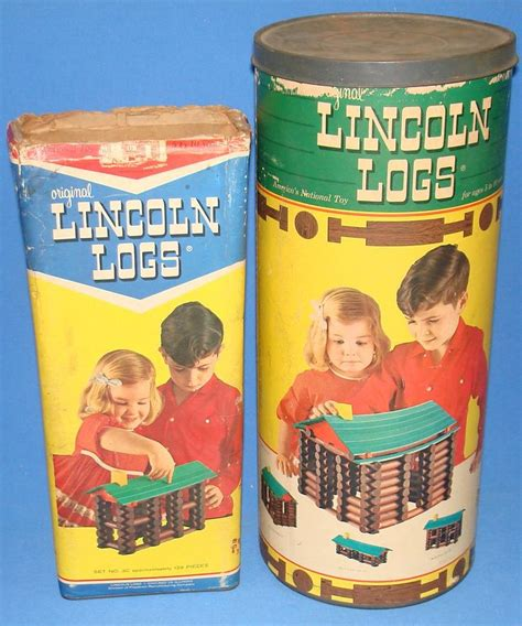 antique lincoln logs lincoln logs childhood memories