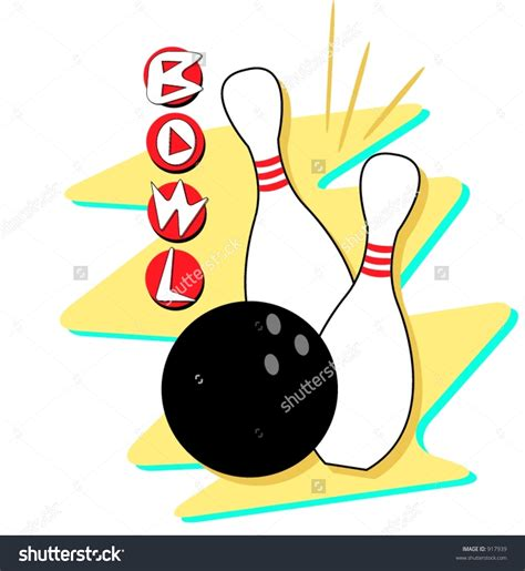 clipart bowling free bowling vector clipart 49