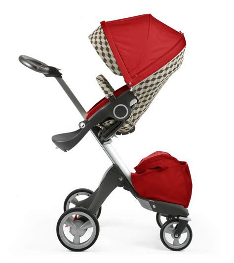 Hair Style Kit Ride by Stokke Stroller Seat Style Kit Beige Cube