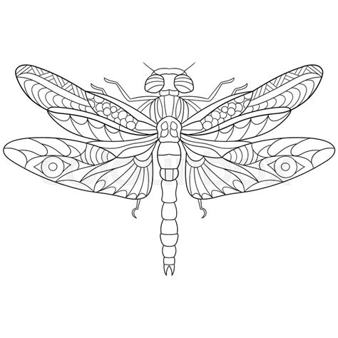 Dragonfly Coloring Book Pages by Dragonfly Coloring Pages Sketch Coloring Page