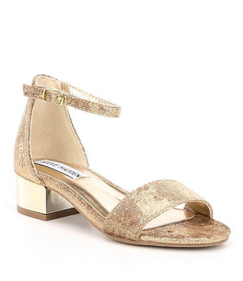Wedges Emboss Glitter Flare Dress steve madden j irene block heel dress sandals dillards