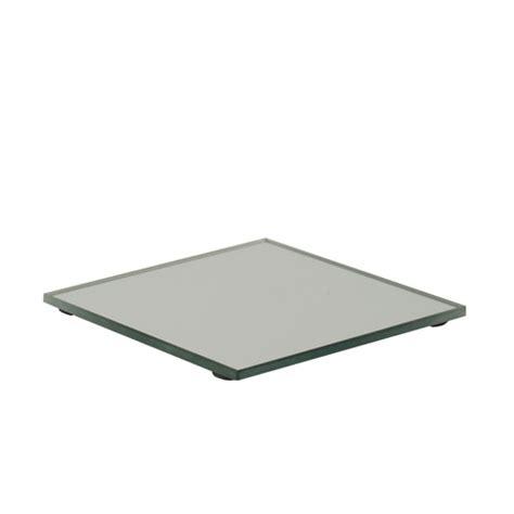 kerzenuntersetzer glas kerzenuntersetzer spiegel glas eckig 10 cm x 10 cm