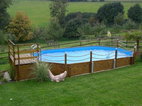 holzterrasse pool selber bauen swimmingpool holzpool pool