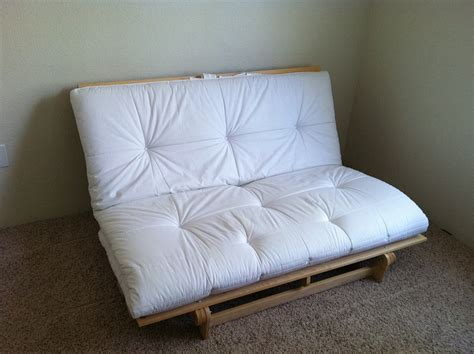White Wooden Futon by Comfortable Futon Mattress Kd Lounger Futon Frame Futon