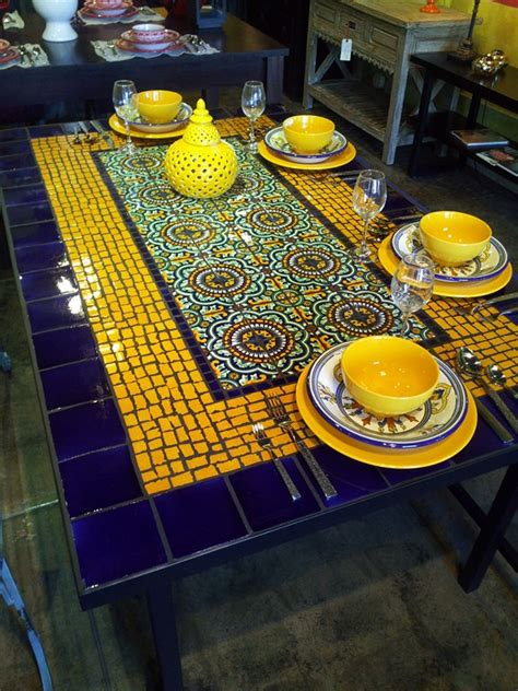 mosaic dining table table picture and infos table picture