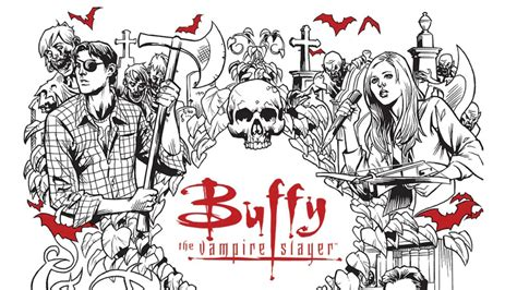 Buffy The Vire Slayer Coloring Pages These Upcoming Buffy Coloring Books Are Slaying Our Hearts by Buffy The Vire Slayer Coloring Pages