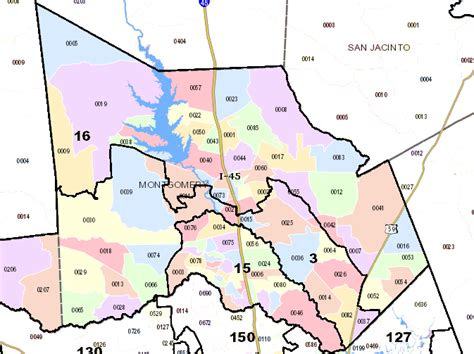 montgomery county texas map interim maps for 2012 elections