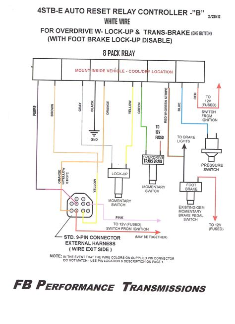 ford c6 neutral safety switch wiring diagram wiring