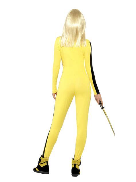 quentin tarantino film fancy dress ladies kill bill costume uma thurman fancy dress halloween