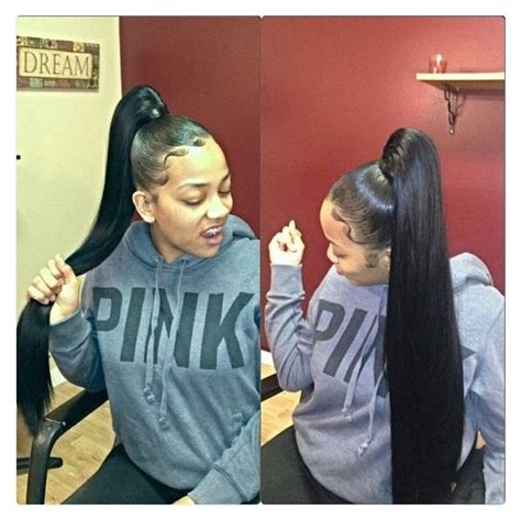 slick back weave hair stylea the 25 best weave ponytail hairstyles ideas on pinterest