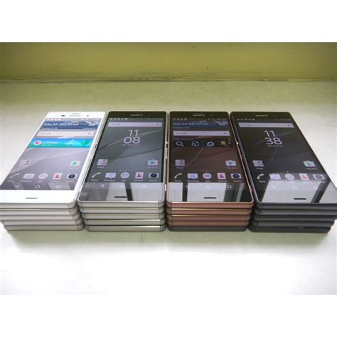 Lcd Lenovo Z3 Compact D5833d5803 Hitam Frame sony xperia z3 and z3 compact priced for malaysia at rm2399 and rm1899 technave