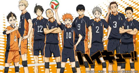 anime volleyball volleyball anime haikyu getting ready to serve fans with