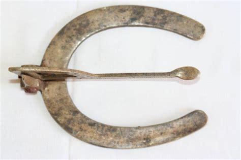 sextant horse sundials antique quot horse shoe quot brass sundial or primitive