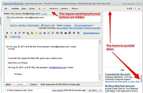 Outlook Search Email Sent Only To Me Gmail S New Scrollbars Subtly Prevent Me From Sending Mail