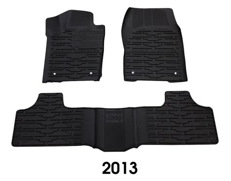 jeep grand slush floor mats mopar wk2slushmats