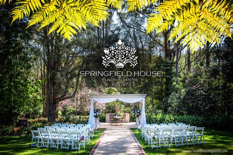wedding photo locations south west sydney premier wedding venues springfield house function centre