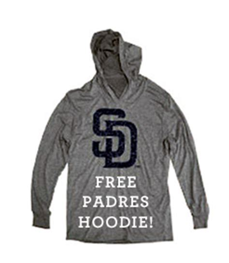 padres giveaways and promotions calendar for may june 2015 petco park insider - Padres Hoodie Giveaway