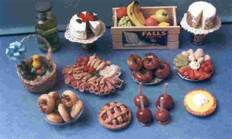 doll house food hand made dollhouse miniatures