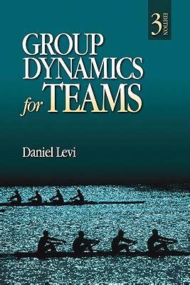 dynamics books dynamics for teams by daniel levi reviews
