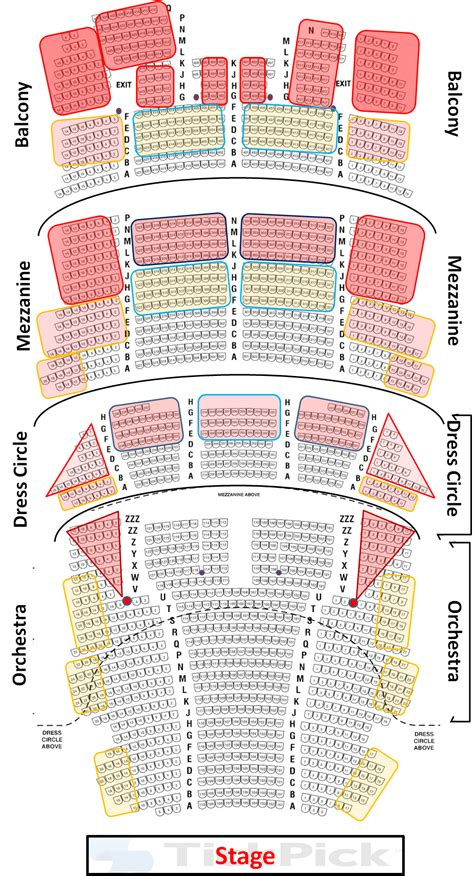 cibc theater seating chart seat views hamilton chicago