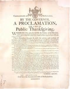the first thanksgiving proclamation state library of massachusetts thanksgiving at the state
