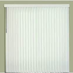 Vertical Window Blinds Lowes Shop Custom Size Now By Levolor White Vinyl Vertical