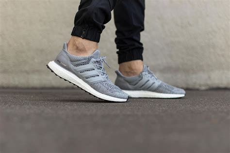 Sepatu Adidas Ultra Boost Ultraboost Primeknit Grey Silver Abu adidas ultra boost quot silver metallic quot le site de la sneaker