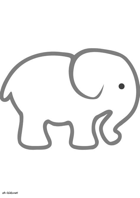 Dessin Coloriage Elephant | Car Interior Design