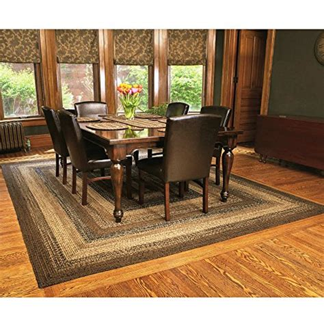 ihf home decor ihf home decor rectangle braided area rug 22 x 72 new cappuccino design jute fabric area