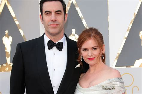 And Isla Fisher Oscar Twinkies by Sacha Baron Cohen Confesses That The Oscars Banned Him