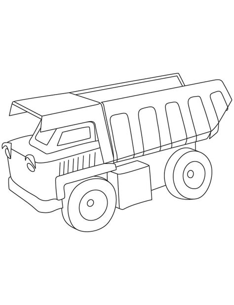 dump truck coloring pages az coloring pages