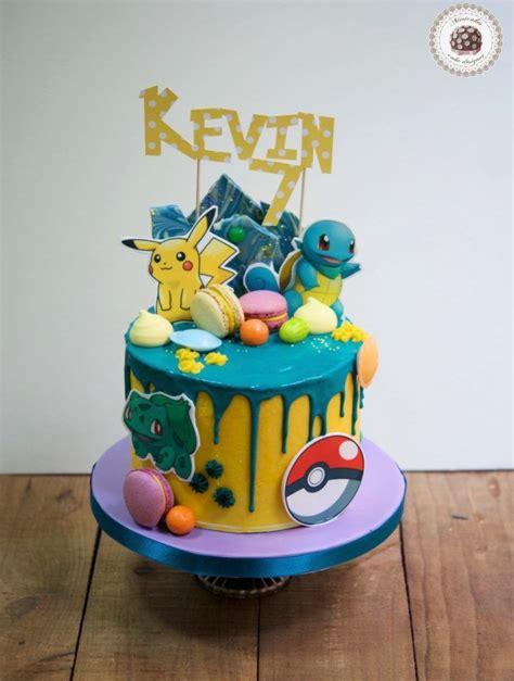 pin  amber jade  birthday boy pokemon birthday cake candy birthday cakes cake