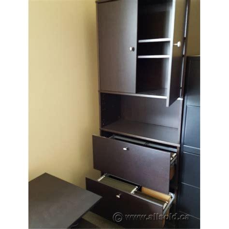 ikea effektiv file cabinet ikea effektiv espresso 2 drawer lateral file cabinet w
