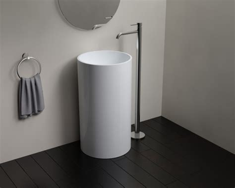 Free Standing Sink Bathroom Free Standing Sink And Space Saving The Homy Design