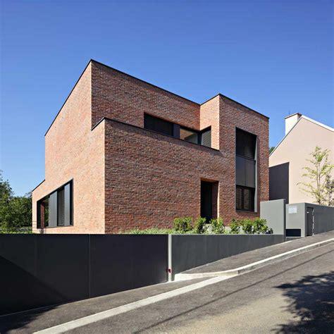 modern brick house brick laminate picture brick facade