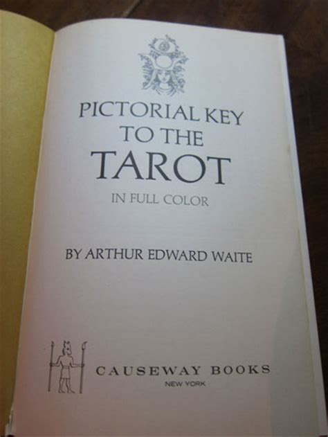 the pictorial key to pictorial key to the tarot waite
